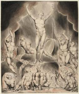 From Paradise Lost: Lucifer Inciting Rebellion